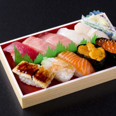 Akita sushi tokusen nigiri tokujō