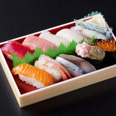 Akita sushi tokusen nigiri-jō